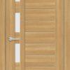 Межкомнатная дверь ПВХ S 3 орех королевский 2