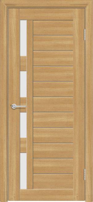 Межкомнатная дверь ПВХ S 25 лиственница золотистая 3