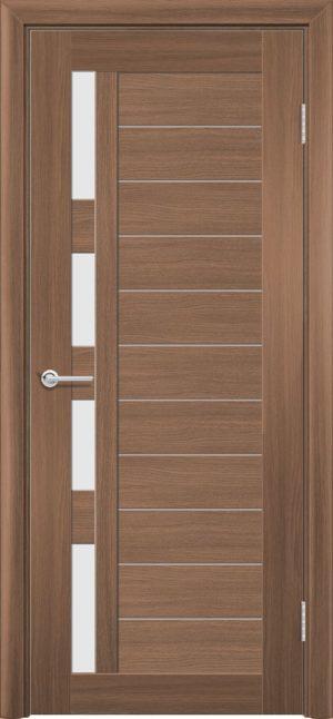 Межкомнатная дверь ПВХ S 25 орех королевский 3