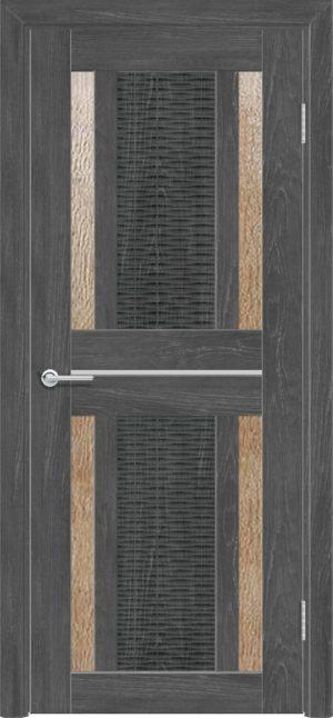 Межкомнатная дверь ПВХ S 26 дуб графит 3