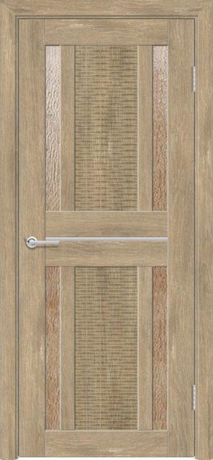 Межкомнатная дверь ПВХ S 26 дуб шале 3