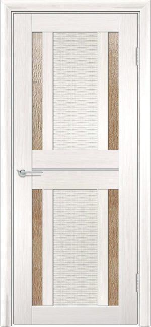 Межкомнатная дверь ПВХ S 26 лиственница беленая 3