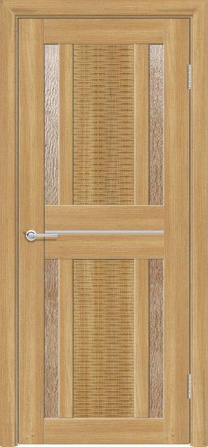 Межкомнатная дверь ПВХ S 26 лиственница золотистая 3