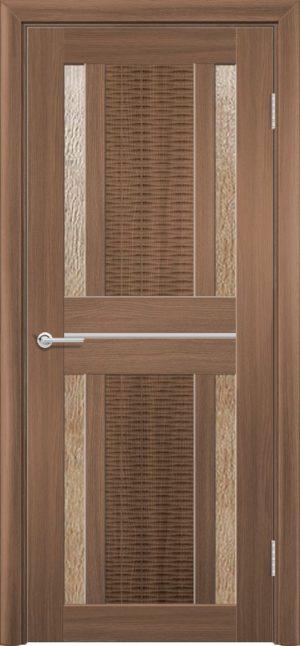 Межкомнатная дверь ПВХ S 26 орех королевский 3