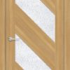 Межкомнатная дверь ПВХ S 34 орех королевский 1