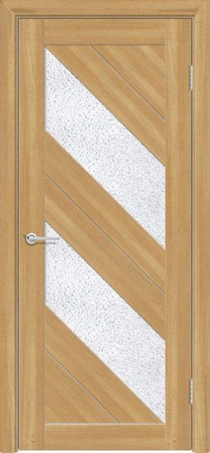 Межкомнатная дверь ПВХ S 27 лиственница золотистая 1