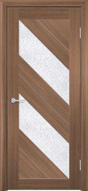 Межкомнатная дверь ПВХ S 27 орех королевский 3