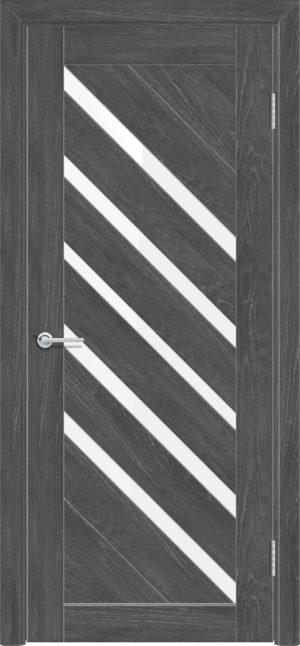 Межкомнатная дверь ПВХ S 28 дуб графит 3