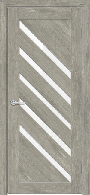 Межкомнатная дверь ПВХ S 28 дуб седой 1