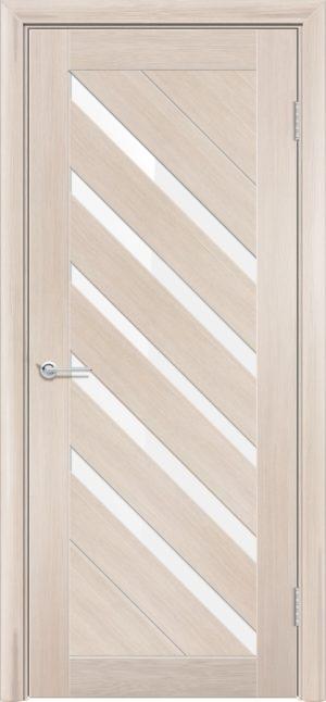Межкомнатная дверь ПВХ S 28 лиственница кремовая 3