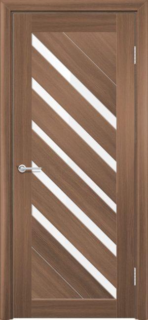 Межкомнатная дверь ПВХ S 28 орех королевский 3