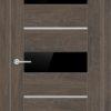 Межкомнатная дверь ПВХ S 9 лиственница золотистая 1