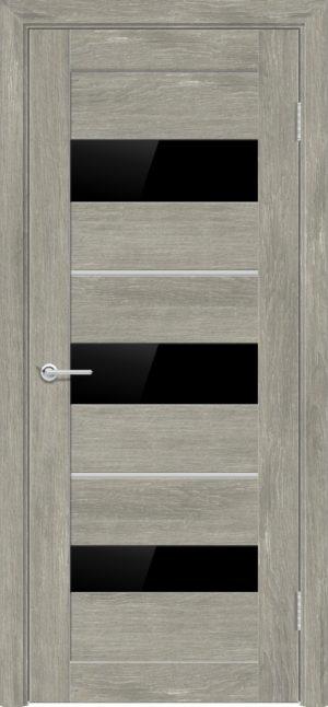 Межкомнатная дверь ПВХ S 29 дуб седой 1