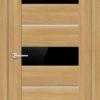 Межкомнатная дверь ПВХ S 23 дуб графит 1