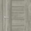 Межкомнатная дверь ПВХ S 17 дуб графит 1