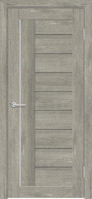 Межкомнатная дверь ПВХ S 3 дуб седой 1