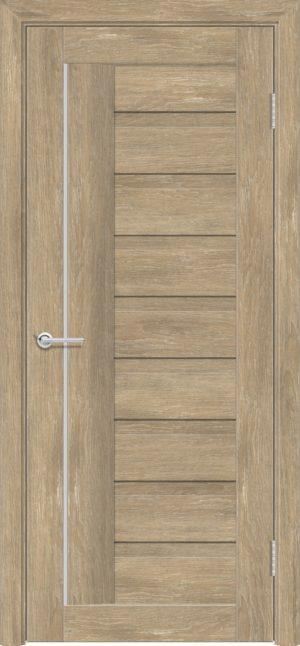 Межкомнатная дверь ПВХ S 3 дуб шале 1