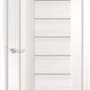 Межкомнатная дверь ПВХ S 18 лиственница кремовая 1