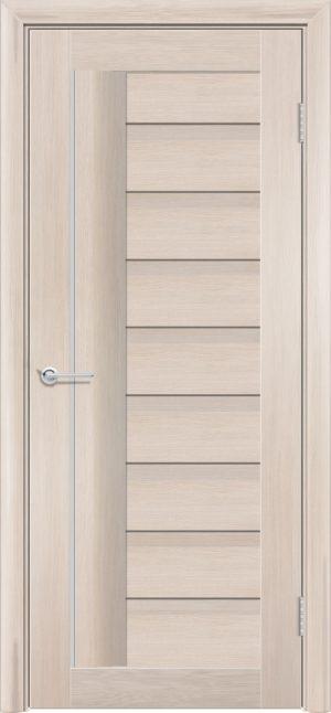 Межкомнатная дверь ПВХ S 3 лиственница кремовая 3