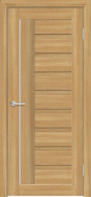 Межкомнатная дверь ПВХ S 3 лиственница золотистая 3
