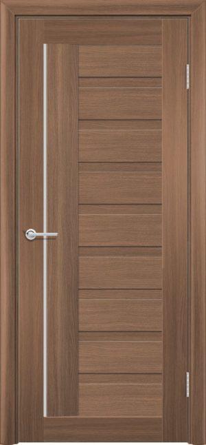 Межкомнатная дверь ПВХ S 3 орех королевский 3