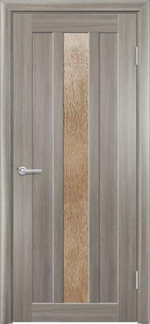 Межкомнатная дверь ПВХ S 30 дуб дымчатый 3