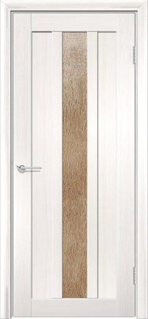 Межкомнатная дверь ПВХ S 30 лиственница беленая 3