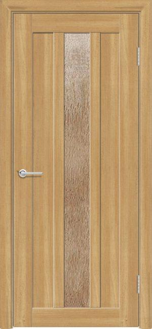 Межкомнатная дверь ПВХ S 30 лиственница золотистая 3