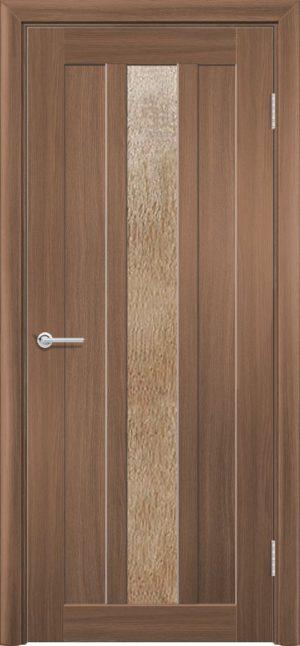 Межкомнатная дверь ПВХ S 30 орех королевский 3