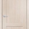 Межкомнатная дверь ПВХ S 8 лиственница беленая 1