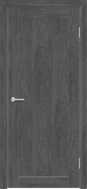 Межкомнатная дверь ПВХ S 32 дуб графит 1