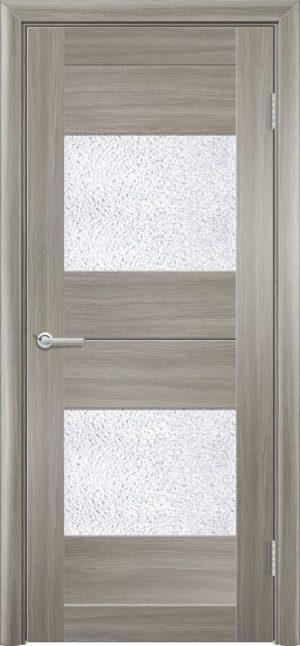 Межкомнатная дверь ПВХ S 33 дуб дымчатый 3
