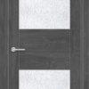 Межкомнатная дверь ПВХ S 18 лиственница беленая 2