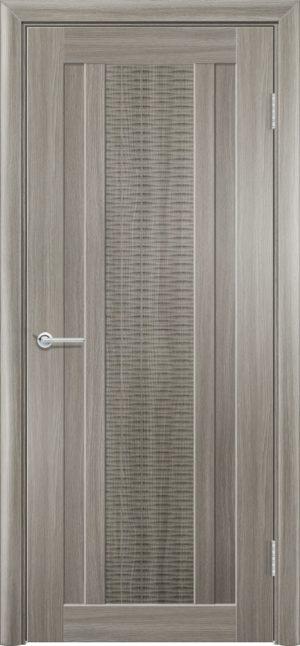 Межкомнатная дверь ПВХ S 34 дуб дымчатый 3