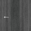 Межкомнатная дверь ПВХ S 24 дуб седой 1