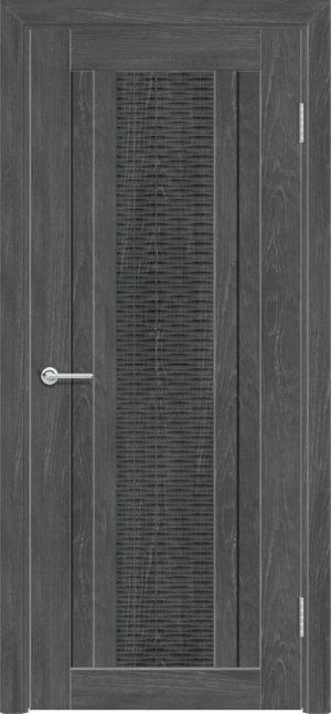 Межкомнатная дверь ПВХ S 34 дуб графит 1