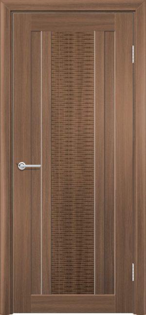 Межкомнатная дверь ПВХ S 34 орех королевский 3