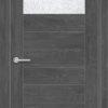 Межкомнатная дверь ПВХ S 17 дуб графит 2