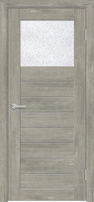 Межкомнатная дверь ПВХ S 35 дуб седой 3