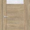 Межкомнатная дверь ПВХ S 5 орех королевский 2