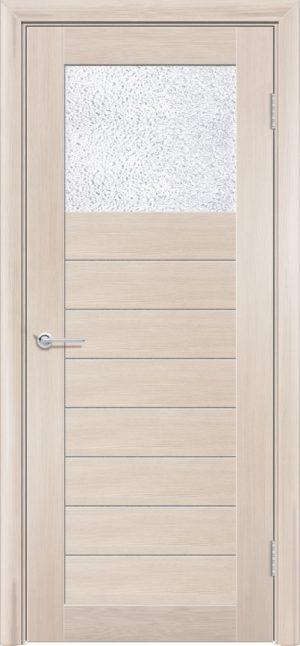 Межкомнатная дверь ПВХ S 35 лиственница кремовая 3