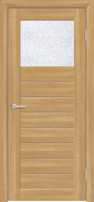 Межкомнатная дверь ПВХ S 35 лиственница золотистая 3