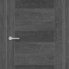 Межкомнатная дверь ПВХ S 45 дуб дымчатый 1