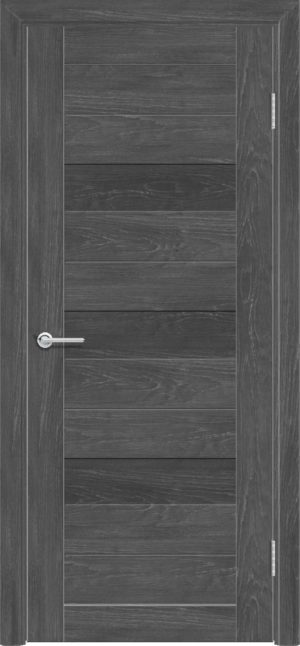 Межкомнатная дверь ПВХ S 36 дуб графит 3