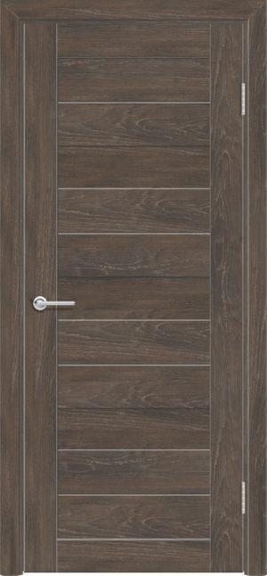 Межкомнатная дверь ПВХ S 36 дуб корица 3