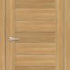 Межкомнатная дверь ПВХ S 12 лиственница золотистая 1