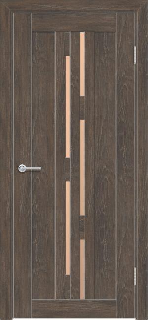 Межкомнатная дверь ПВХ S 37 дуб корица 3