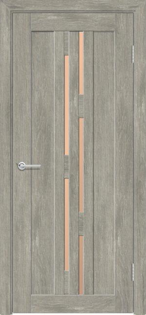 Межкомнатная дверь ПВХ S 37 дуб седой 3