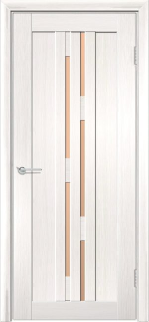 Межкомнатная дверь ПВХ S 37 лиственница беленая 3