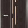 Межкомнатная дверь ПВХ S 10 дуб графит 2